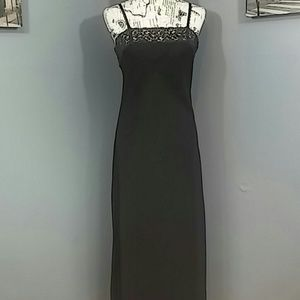 Valerie Stevens Other - Valerie Stevens Doubl Layer Sheer Maxi Night Dress