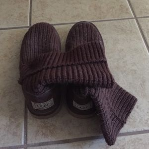 UGG Shoes - Ugg Classic Cardi Sweater Boots