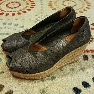 Tory Burch Wedge Espadrilles