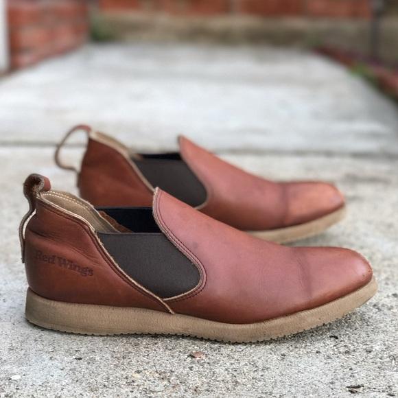 Red Wing Romeo Slipon Boots | Poshmark