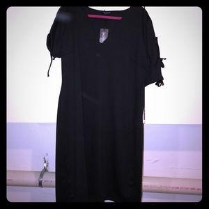 Pink Clove Dresses & Skirts - Pink Clove NWT Cross stitch shoulder dress