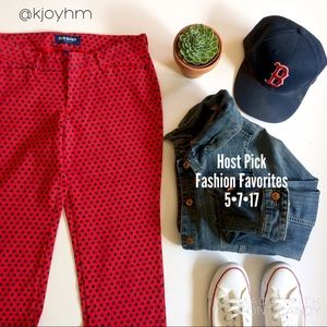 Old Navy Pants - HP🎉Old Navy daisy pant