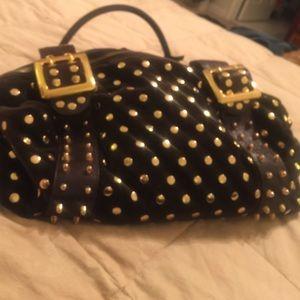 Be & D Handbags - Be & D velvet satchel