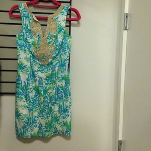 Lilly Pulitzer 00 High Beams Janice Dress