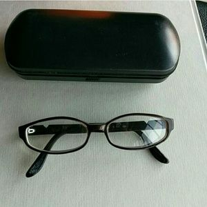 Valentino eyeglasses frames with case