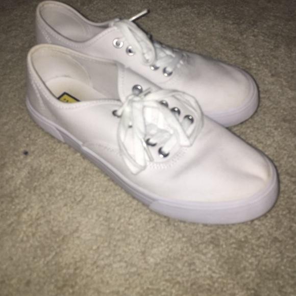 Vans Shoes   White Knock Off Vans
