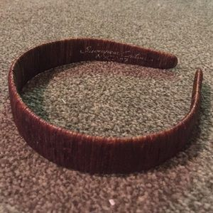 Accessories - Brown threaded handmade headband
