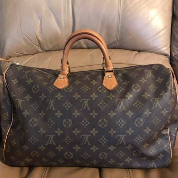 bfb5c48d804c Louis Vuitton Handbags - Louis vuitton speedy 40 vintage