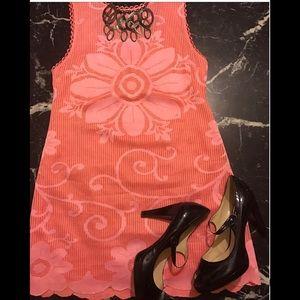 New Romantics Free People Maxi Dress Hot Coral