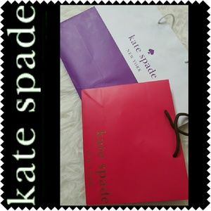 kate spade Handbags - Kate Spade Paper Bags