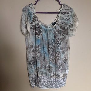 Fang Tops - Patterned Top