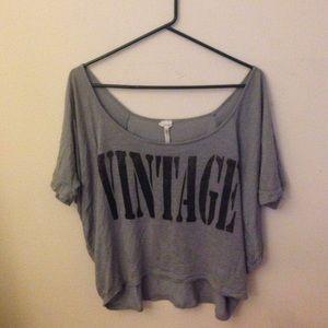 Vintage half sleeve shirt