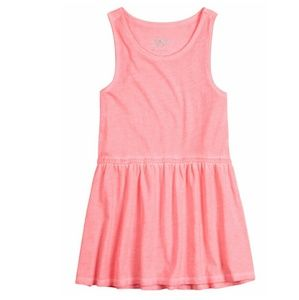 *NEW* JUSTICE Flowy Peplum Pink Top Girls Size 10