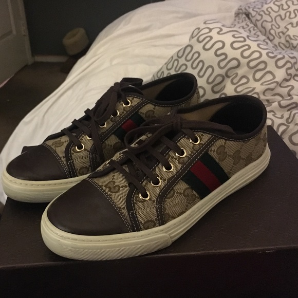 931dba036da Gucci Shoes - Women s Gucci low top sneakers.
