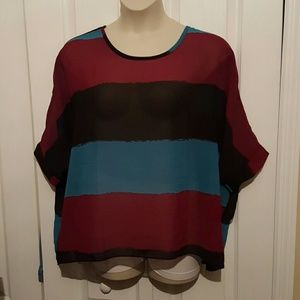 Tops - Poncho style bouse