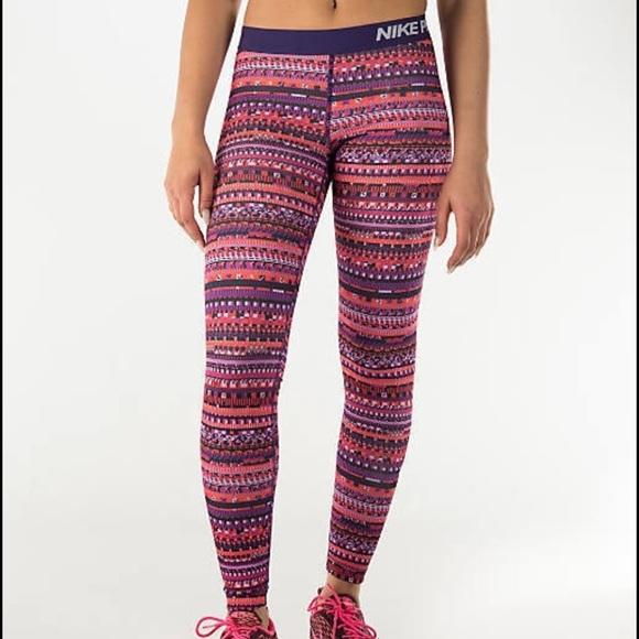 22b5894f659ab Nike Pro Hyperwarm patterned leggings. M_586325027fab3a0e0b027442
