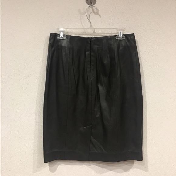 71 talbots dresses skirts talbots leather pencil