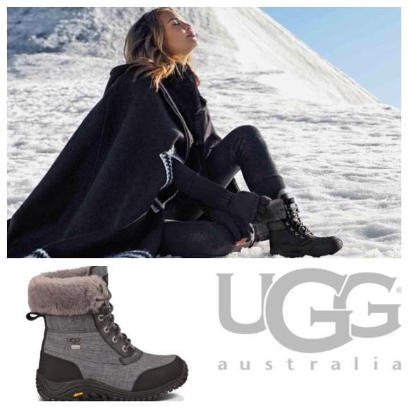 84bfb66bd63 NEW! UGG Adirondack ll waterproof boots-imperfect NWT