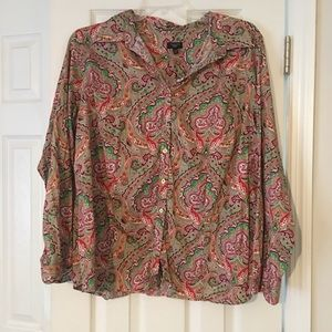 Talbots Tops - Talbots Button Down Top