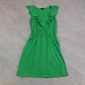 Be Bop ruffle collar dress