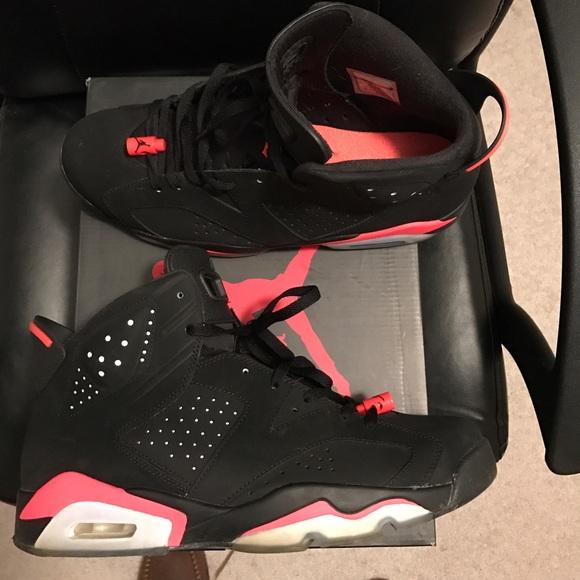 100% authentic 896a3 021cc Jordan Other - Nike Air Jordan Retro 6 Infrared Size 12