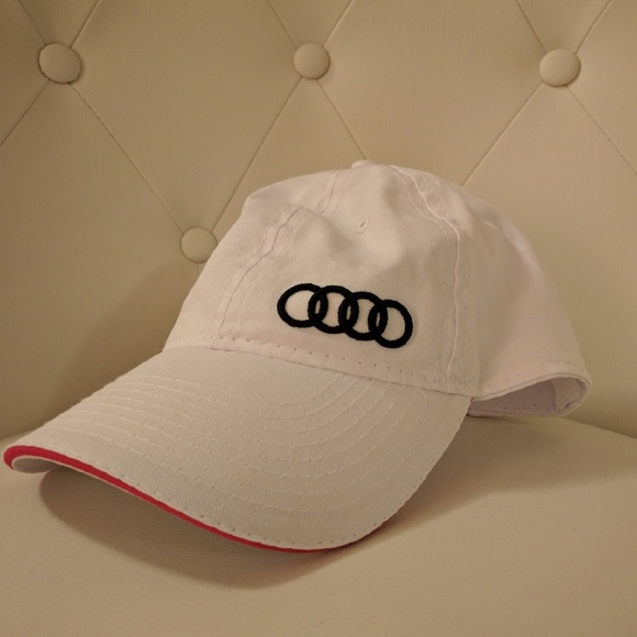 White Audi baseball cap