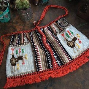Super sweet Vintage embroidered apron