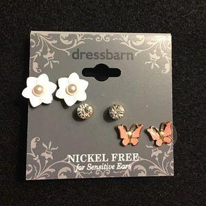 Girls' earrings set
