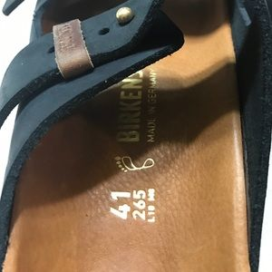 b5a9e7c1664 Birkenstock Shoes - NWOB Birkenstocks Limited Style Arizona Peg Sz 41
