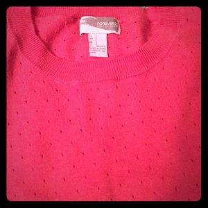 F21 Contemporary sweater