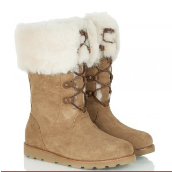 ff5472923b4 UGG Australia - tan barbarin lace up boot