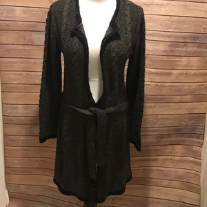 BCBGMAXAZRIA Long Sweater Cardigan