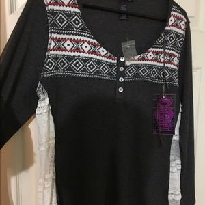 Shyanne Sweaters - NWT Shaynne Rock 'n' Roll Cowgirl Large Sweater