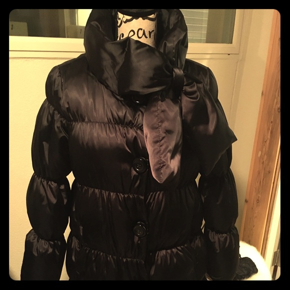 9bfed9d0b Kate Spade New York Black Puffer Coat, Size XL