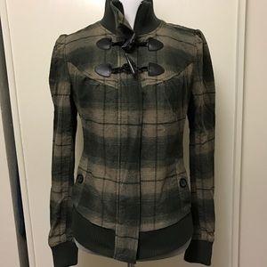 Rubbish Jackets & Blazers - Rubbish Plaid Military Style Jacket