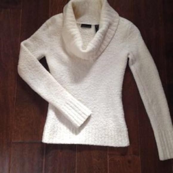 69% off Victoria's Secret Sweaters - Victoria's Secret Boucle Cowl ...