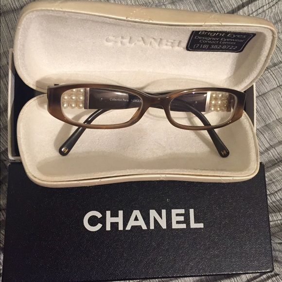 b7c437333ff CHANEL Accessories - Chanel Perle Collection Reading Glasses