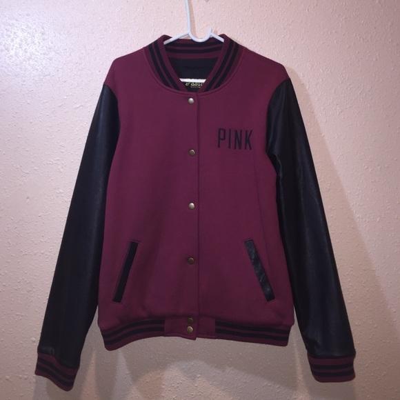 2d9ae090b7c25 PINK VS LIMITED EDITION Varsity Jacket!