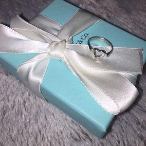 Tiffany & Co. Open Heart Ring