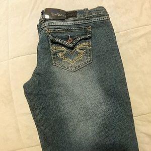 ALLOY Denim - Royal Blue 11x33 NWT jeans