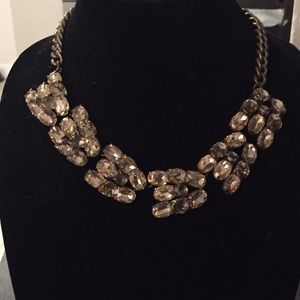 J.Crew Crystal Winged Necklace