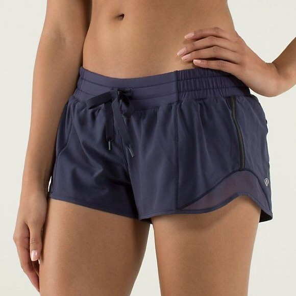 f04b6d875 lululemon athletica Pants - Lululemon Hotty hot shorts size (2) cadet blue