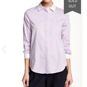 10 Crosby Derek Lam Tops - Derek Lam 10 Crosby shirt tail long sleeve blouse