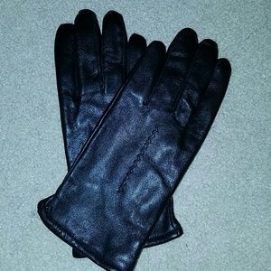 Chadwicks Accessories - Leather black gloves