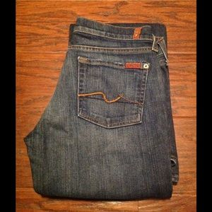 7 For All Mankind Denim - 7 For All Mankind bootcut denim. Size 30.