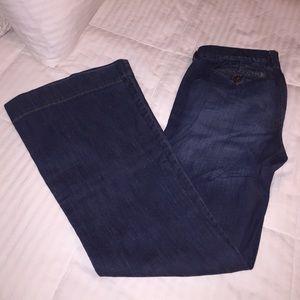 Denim - Wide leg Boot cut jeans 