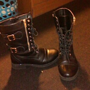 Shoes - Black combat boots