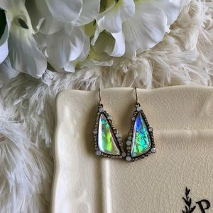 Bedecked & Bedazzled Jewelry - Turquoise Earrings