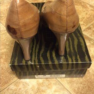 Moda International Shoes - Moda leather platform pumps