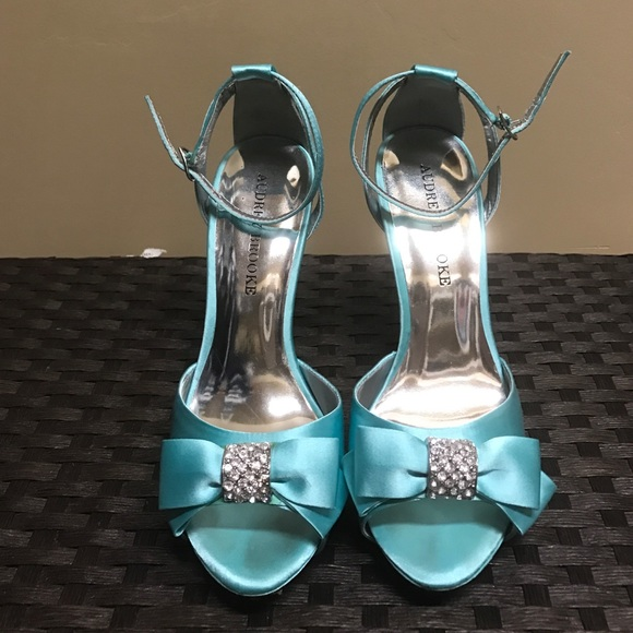 50 off audrey brooke shoes audrey brooke tiffany blue heels audrey brooke tiffany blue heels junglespirit Gallery
